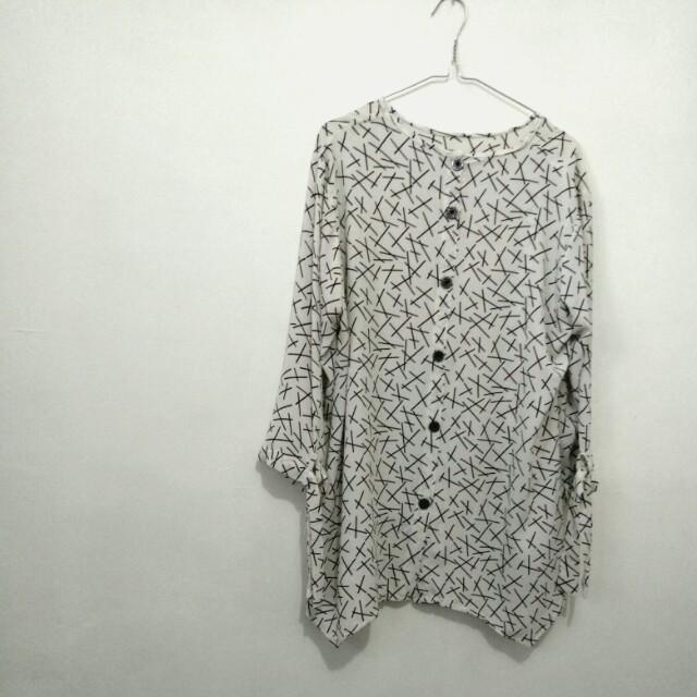 Baju black white