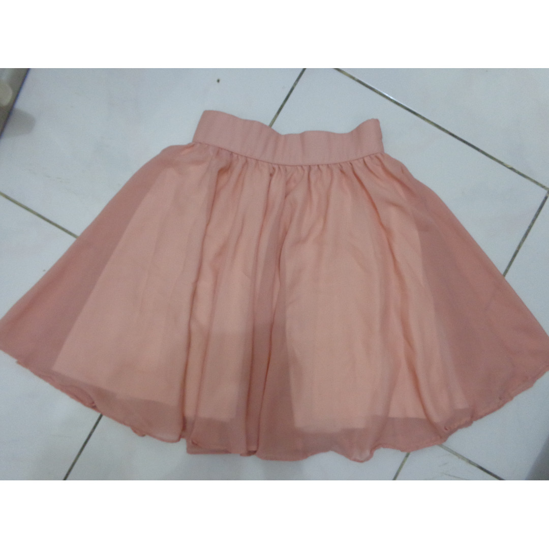 Bangkok Pretty Pink Skirt / Rok Pink