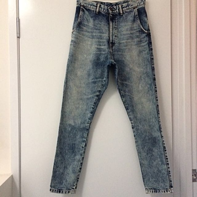 BASSIKE Size 25 40 Year Aged Low Slung Jean Japanese Organic Cotton