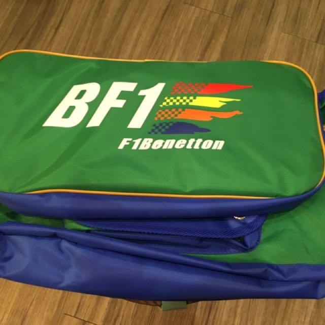 BF1 f1benetton休閒保暖背包