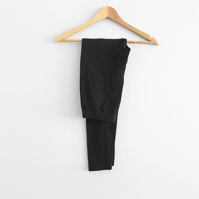Black full length tights