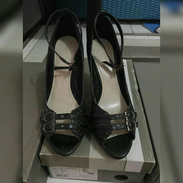Black Shoes Charles N Keith