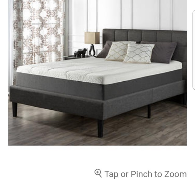 Blackstone full bed and frame