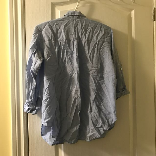 Blue H&M Button Down