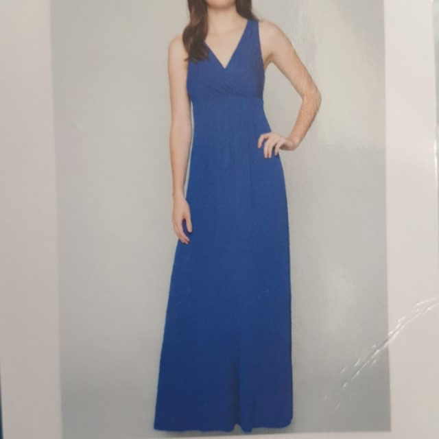 Blue Long dress (size L)