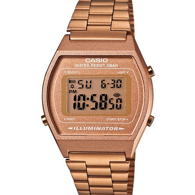 [BN] Authentic Casio B640WC-5A Rose Gold Korean Girly Feminine Trending Michael Kors Inspired Wrist Watch
