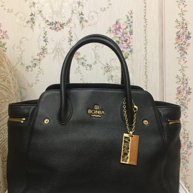 Bonia black bag ORIGINAL! No Fake!