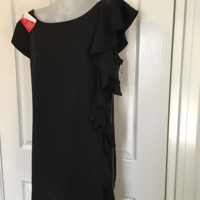 Brand new black dress Size 10-12