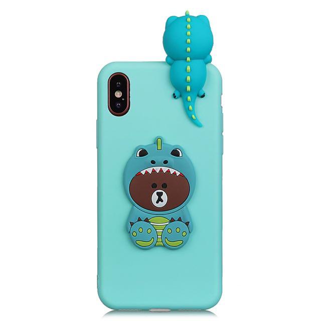 Cash Car Rentals >> Brand New Line Friends Bear Dinosaur Mobile Phone Case Casing Cover, Mobiles & Tablets, Mobile ...