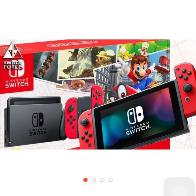 Brand New Nintendo Switch Super Mario Odyssey Bundle