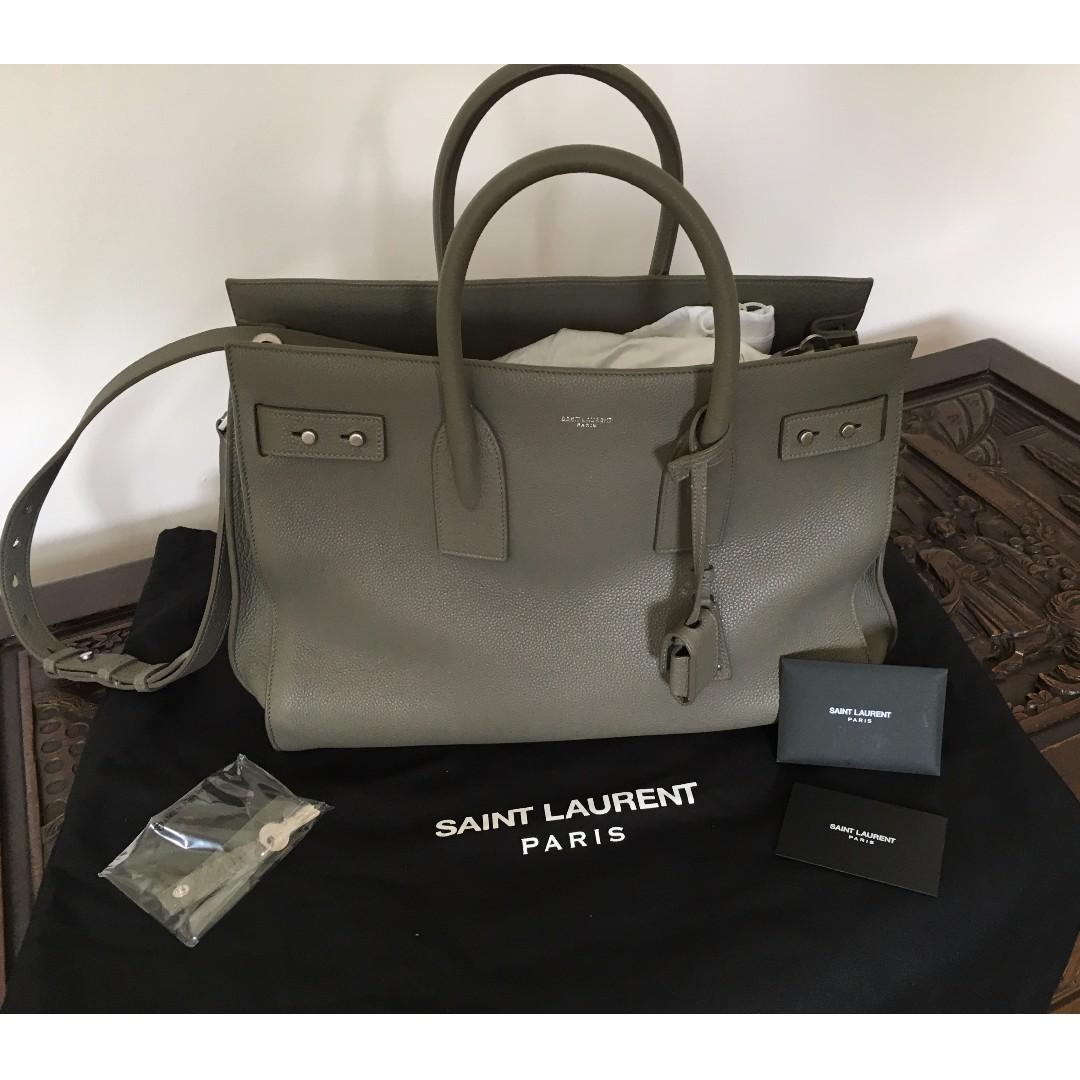0734db0d03 Brand new St Laurent Sac de Jour Soupx grix (large), Luxury, Bags ...