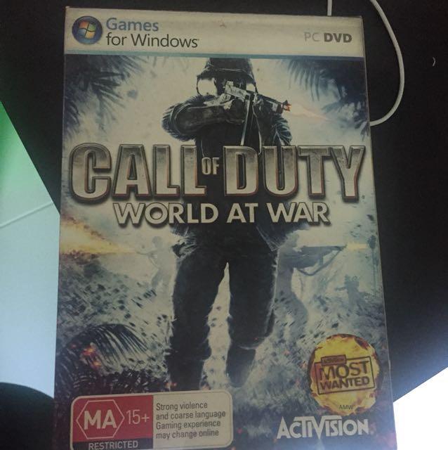 Call of duty: World at War[PC]
