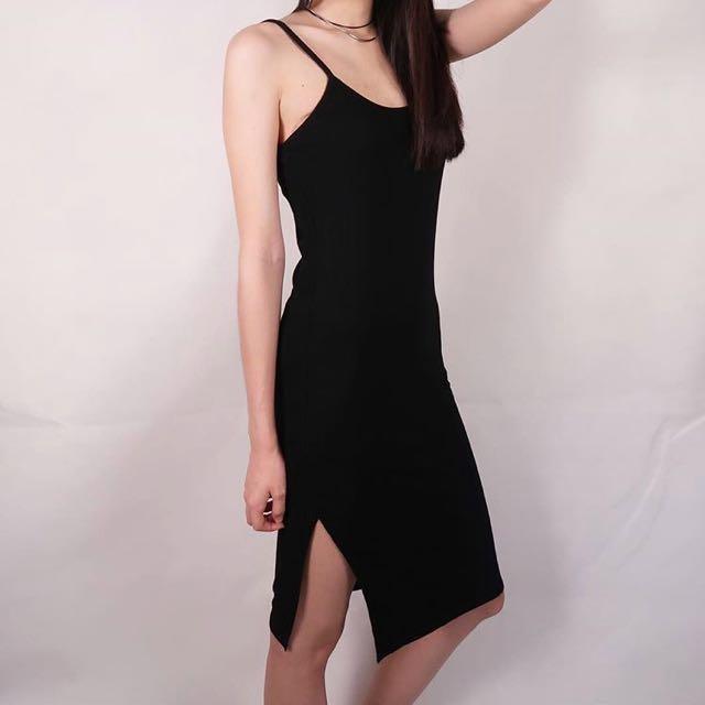 Cami Black Dress