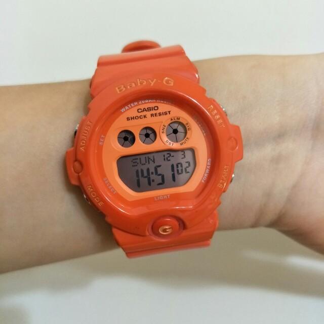 Casio Baby-G 卡西歐 BG-6902 橘