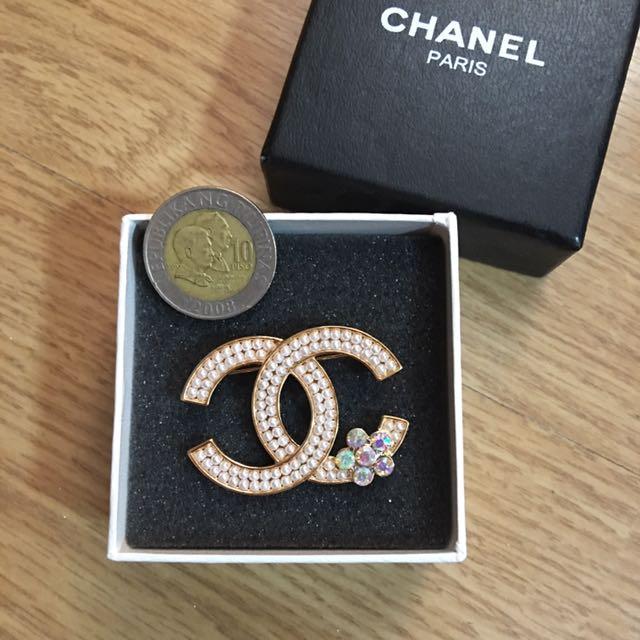 Chanel Inspired Brooch