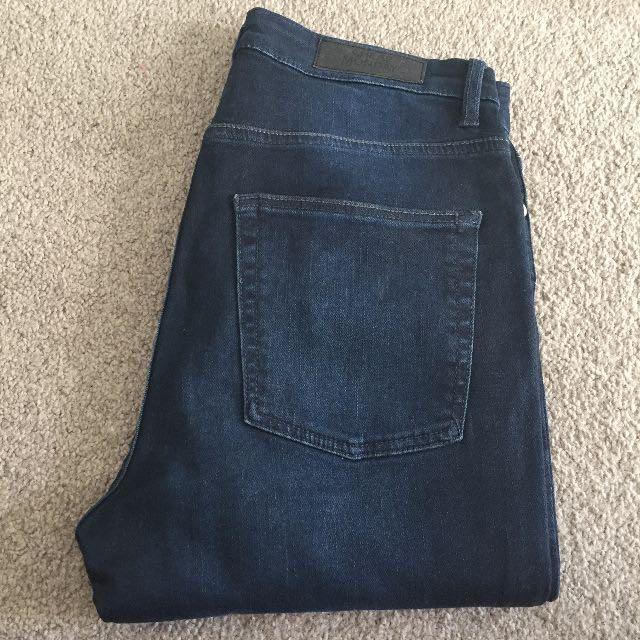 Cheap Monday Blue 'Snapback' Jean