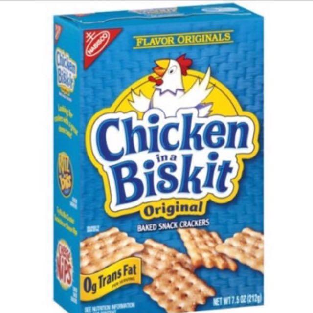 Chicken in a biskit original snacks