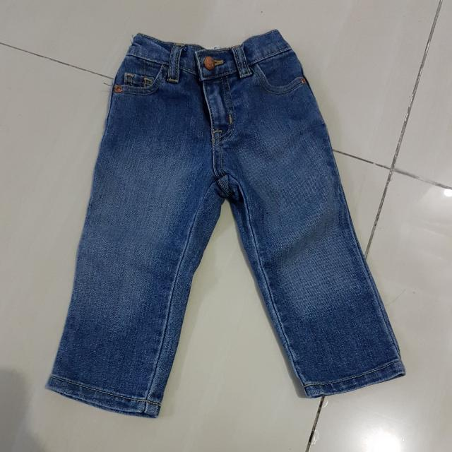 CHILDREN'S PLACE JEANS 12-18M LIKE NEW