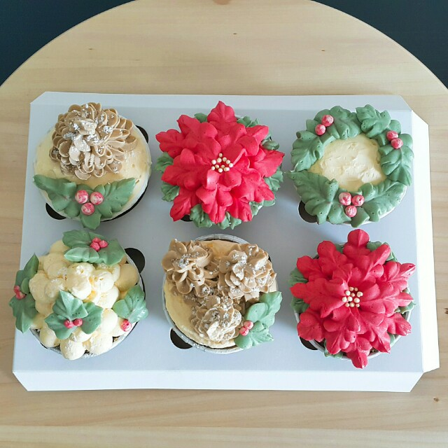 Christmas Special Cupcakes Isi 6
