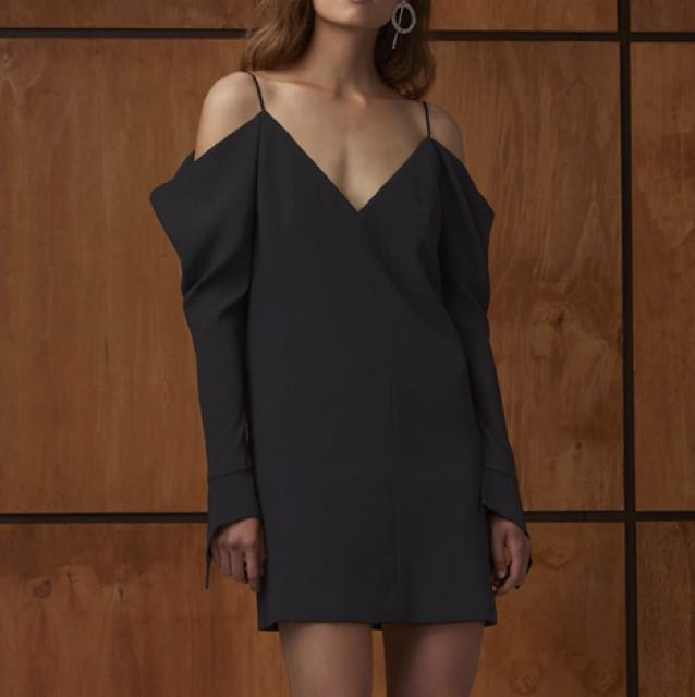 C/meo collective cold shoulder dress
