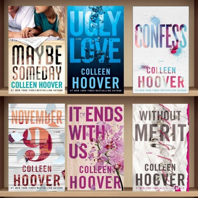 Complete Colleen Hoover Ebooks
