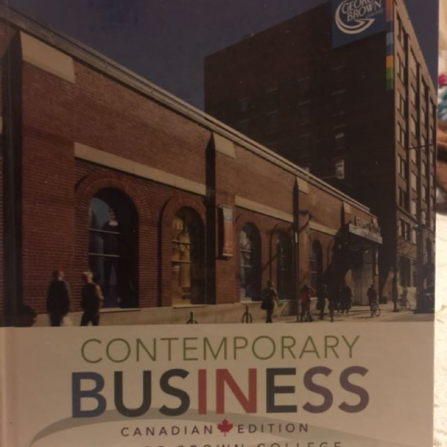 Contemporary Business (George Brown college edition)