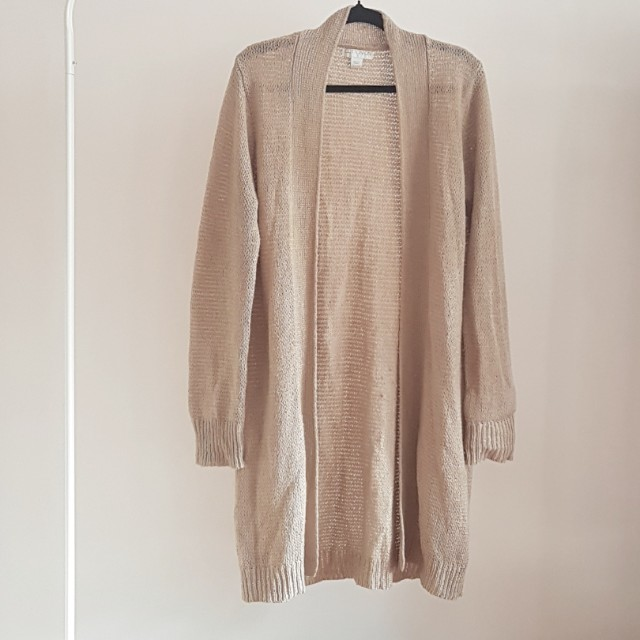 Cotton on longline knit cardigan