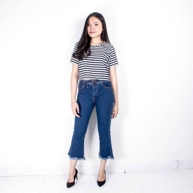 Cutbray jean punny jeans