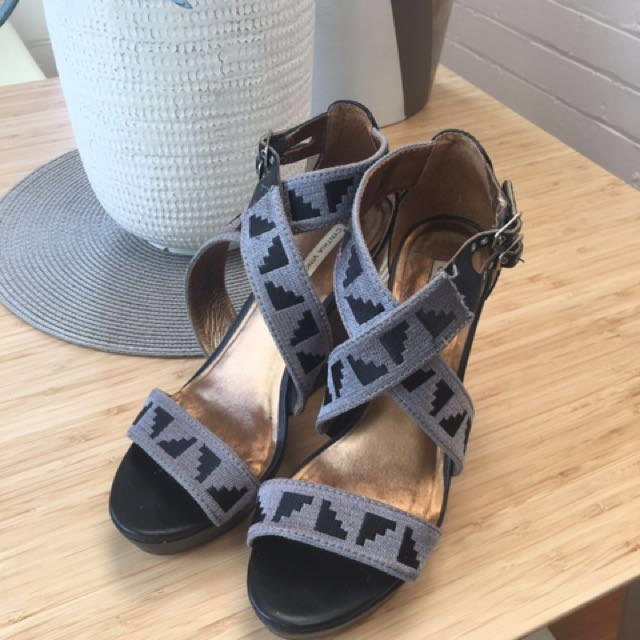 Cynthia Vincent wedges