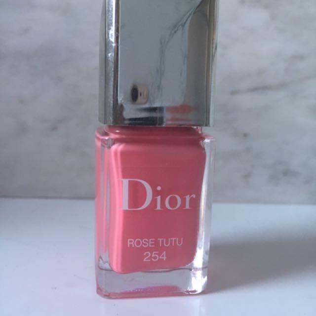 Dior Rode Tutu Nail Polish