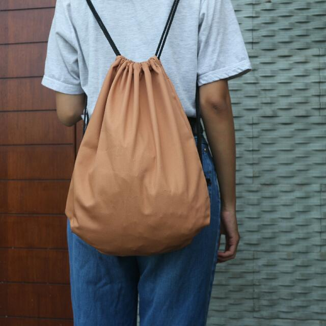 Drawstring Bag Tas Serut Kain