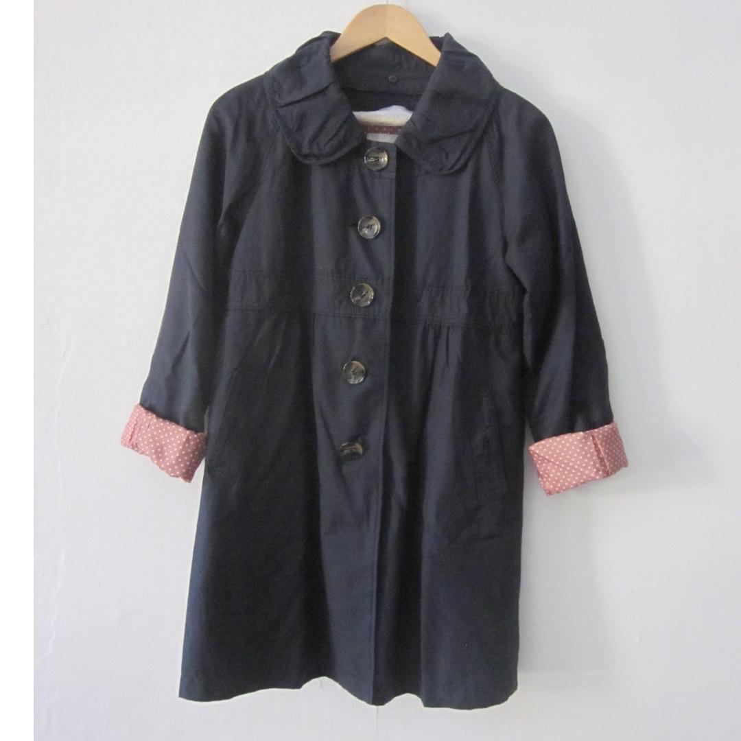 Dual Garnet Spring Coat