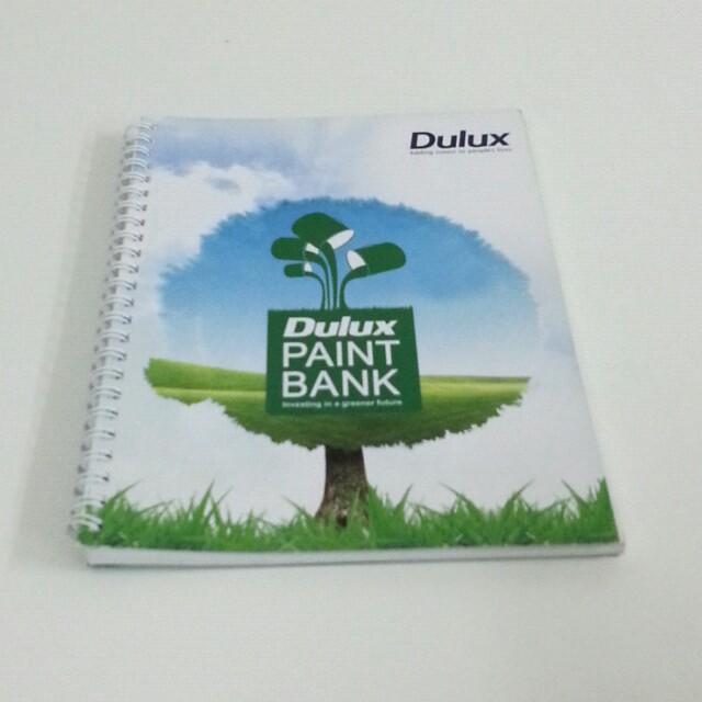 Dulux Note Book