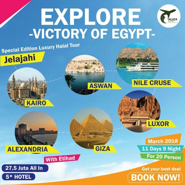 Egypt Luxury Halal Tour 11D9N