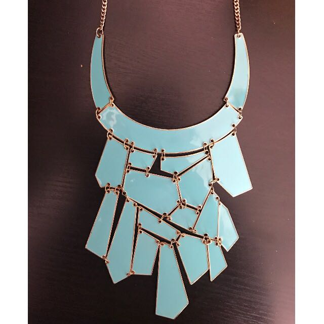 Equip Mosaic Statement Necklace