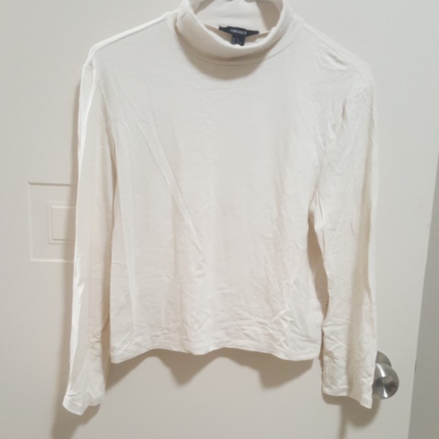 Forever21 Turtle Neck Top