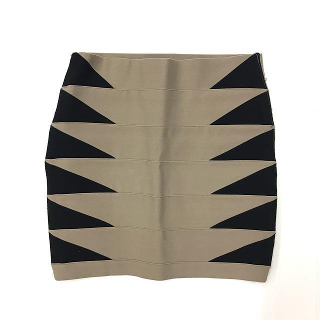 Forever 21 bandage style mini skirt