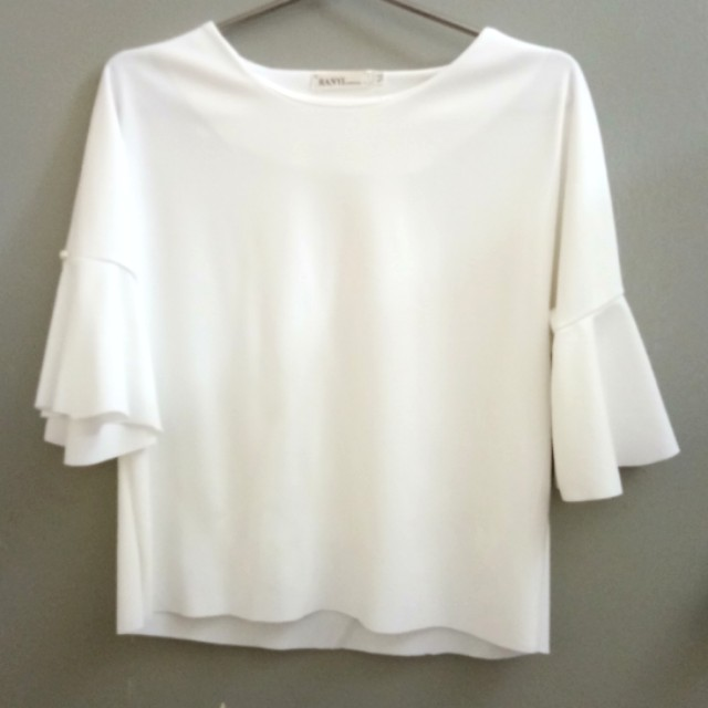 Formal White Top