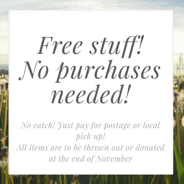 Free! No purchases needed