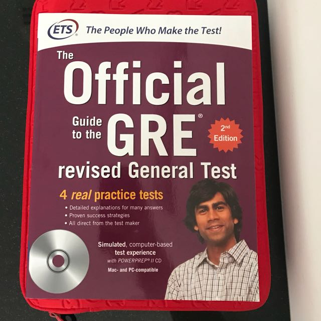 Gre Study Book >> Gre Study Guide Book Books Stationery Fiction On Carousell