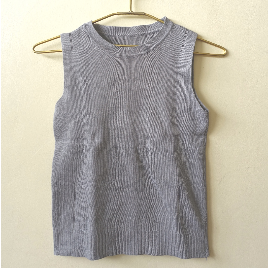 Grey Tank Top (fits Size S-M)