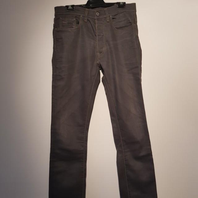 G-Star 3301 Grey Jeans