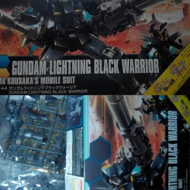 Gundam Lighting Black Warrior