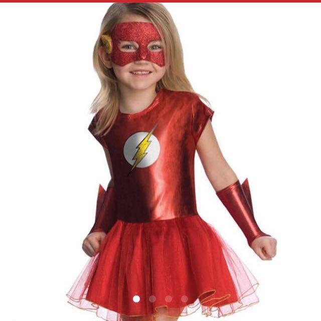 Halloween Costume The Flash And Bat Girl Babies Kids Girl S