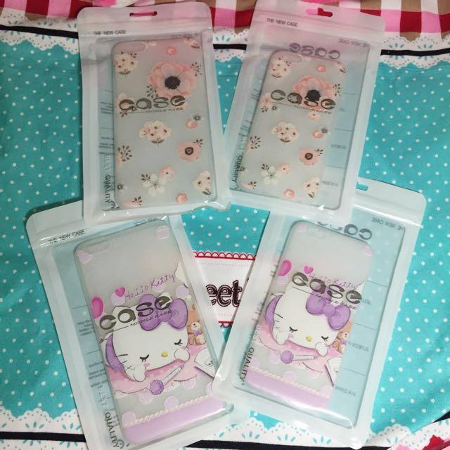 ✨超療癒Hello Kitty&氣質清新花朵 iPhone 6/6Plus全包手機軟殼✨