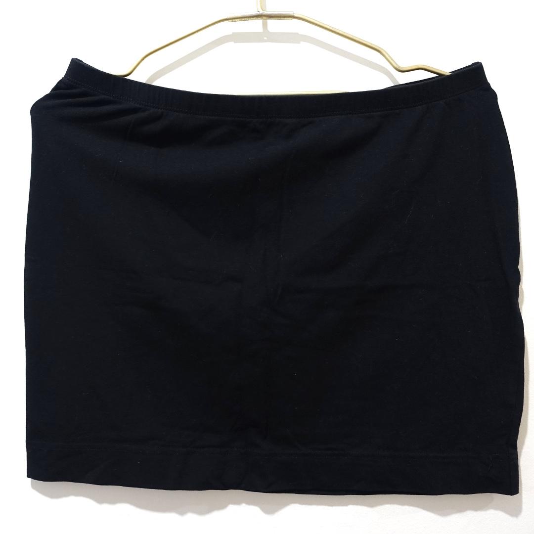 H&M Black Basic Skirt (Medium)