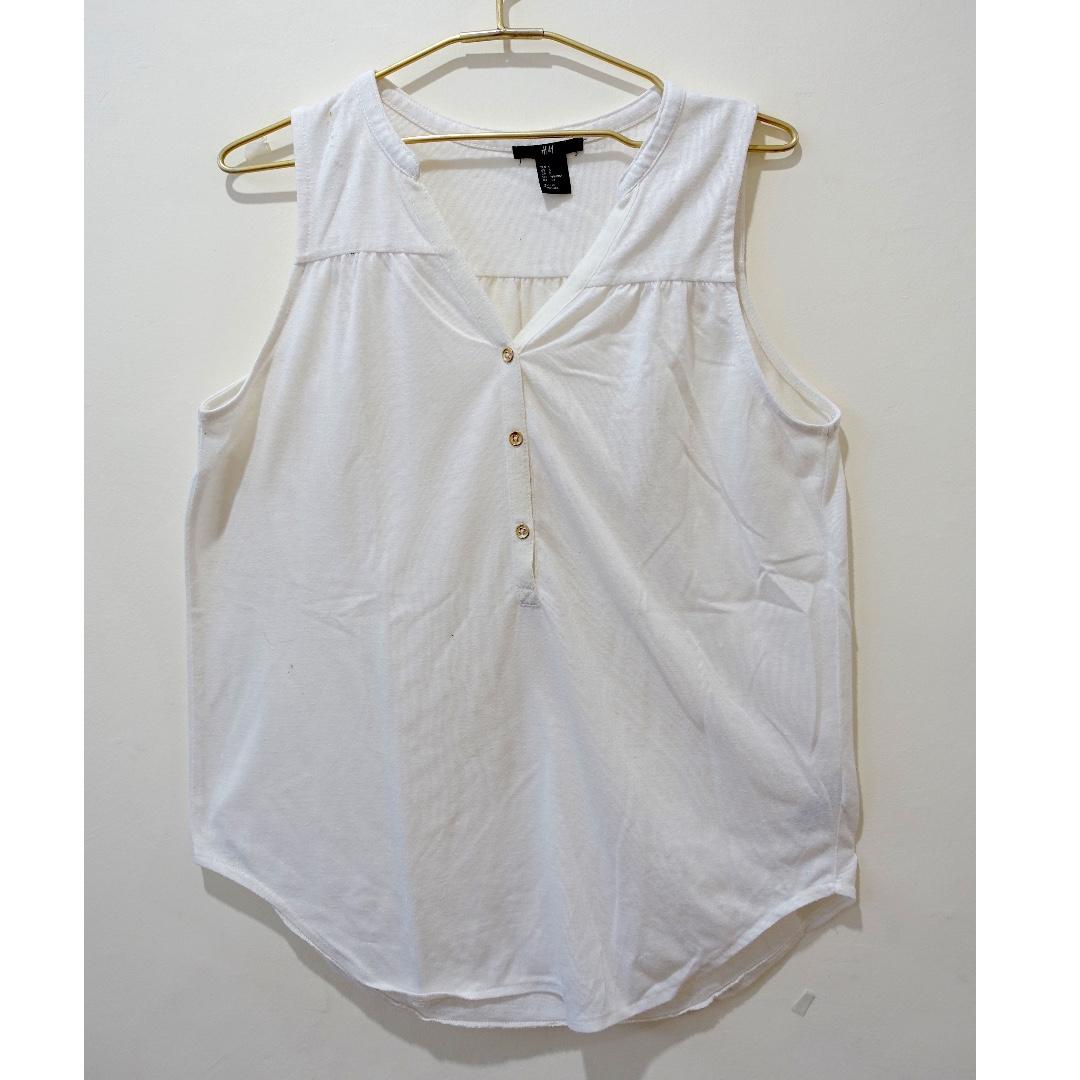 H&M Cotton Top (Size S)