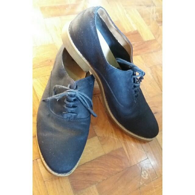 H&M Derby Shoes Navy blue