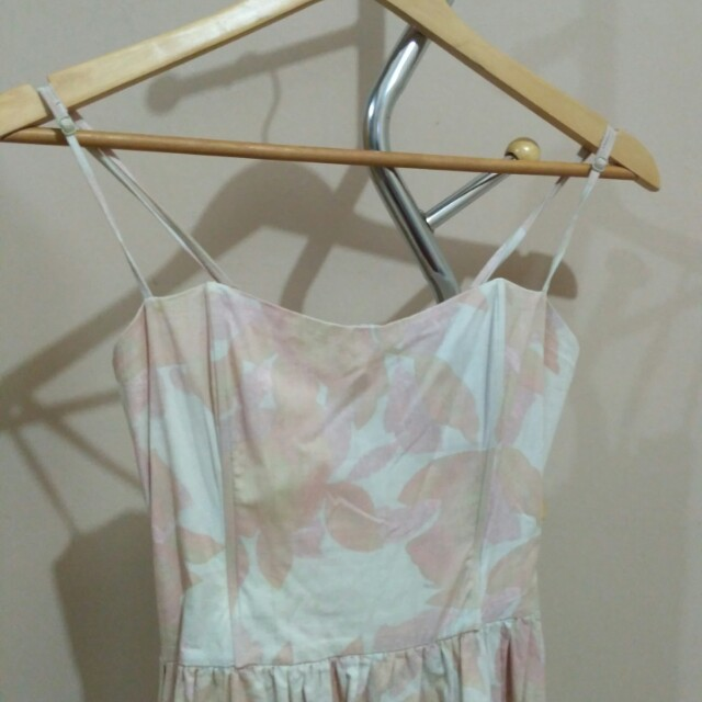 H&M nude dress