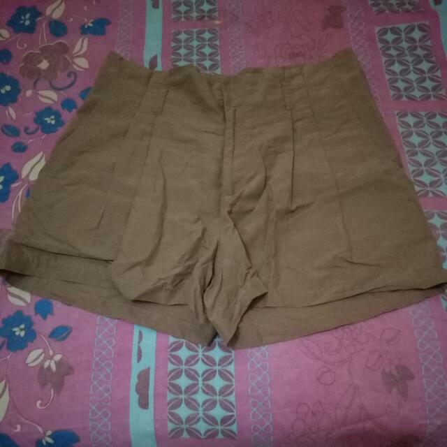 Hotpants H&M Coklat